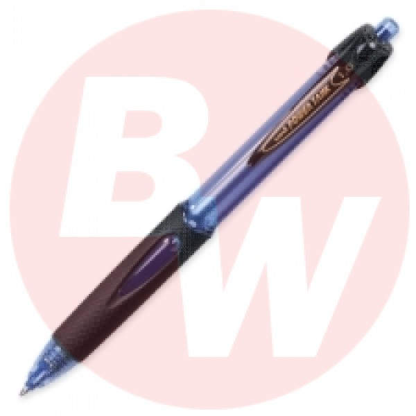 Uni-Ball - 42071 - Power Tank Ballpoint Pen - 1 mm Pen Point Size - Blue Ink - Blue Barrel - 12/pack