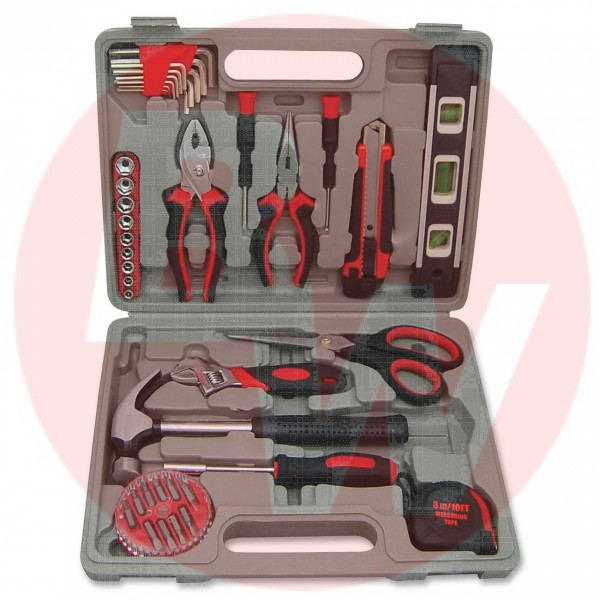 Genuine Joe - 11963 - 42 Piece Tool Kit - 1 Kit / Pack