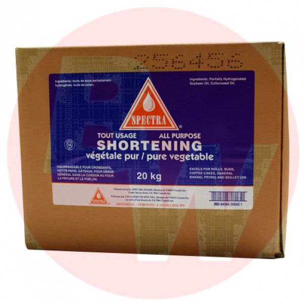Spectra All Purpose Vegetable Shortening 20kg