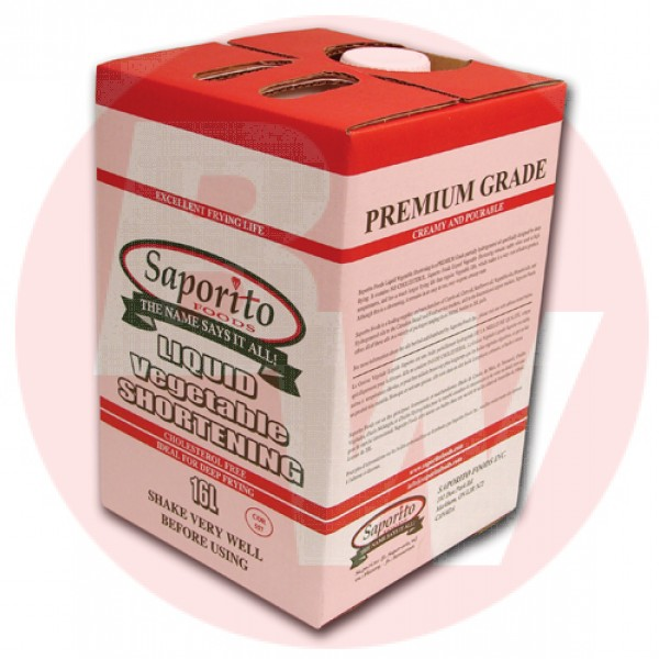 Saporito Foods Liquid Fry Box 16L