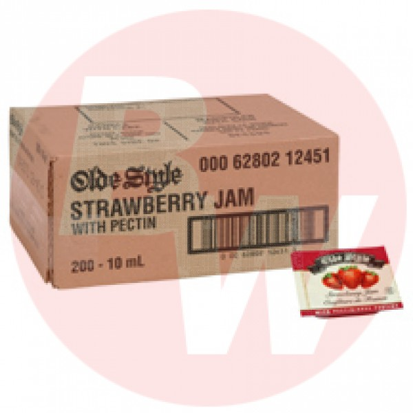 Old Style Strawberry Jam portions 10ml  x 200