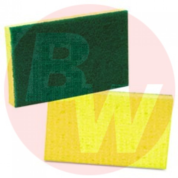 Amber -  - Green + Yellow Pad Cellulose 1/Each