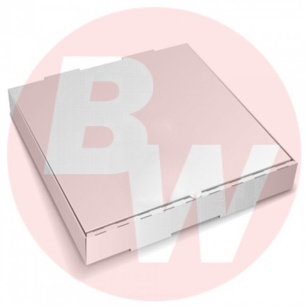 """Amber - 15"""" x 21"""" - Pizza Box White Shrink Wrapped 50/Case"""