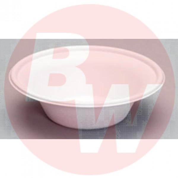 Genpak - HF812 - 11 Oz Harvest Bagasse Bowl 1000/Case