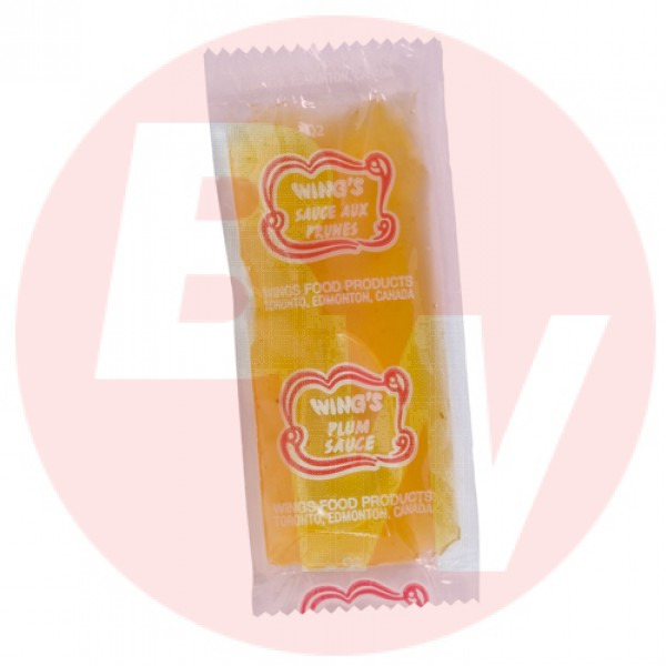 Wing's - Food Egg Roll Plum Sauce 11g x 500