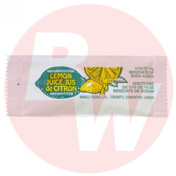 Wing's - Food Lemon Juice Portion 5g x 200