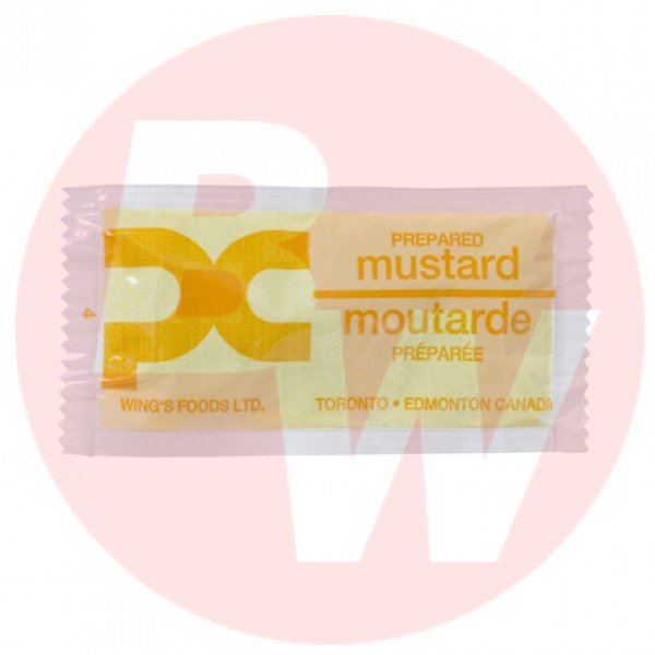 Wing's - Food Mustard Portion 7g x 500