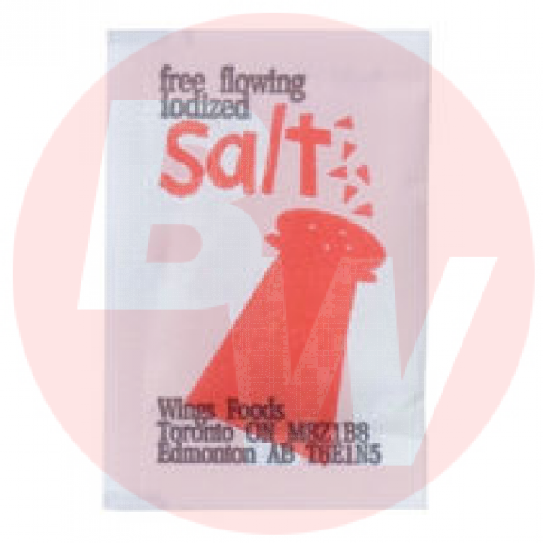 Wing's - Food Salt Portion Envelopes 1m x 6