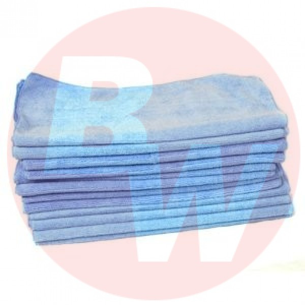 Amber - 16 x 16 Blue - Micro Fibre Cloth 10/Pack