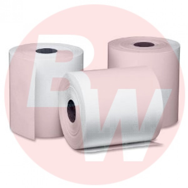 "Amber - TCR3 - Thermal Paper Rolls 3-1/8""X180' 50/Case"