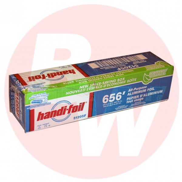 "Hfa - 51205F - Aluminum Foil 12""X200M With Cutting Edge Dispenser 1 ROLL/Pack"