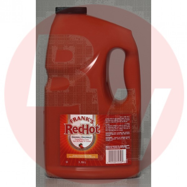 Frank  Red Hot Cayenne Sauce 4 x 3.78L