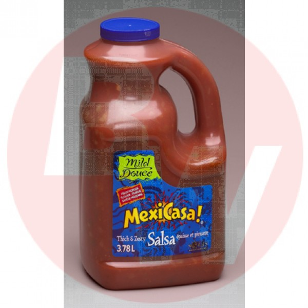 Solis Foods Mexicasa - Thick & Zesty Mild Salsa 3.7L