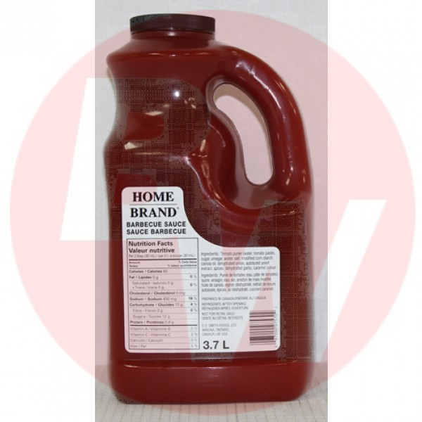ED Smith  Home Brand BBQ Sauce 2 x 3.78L