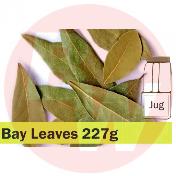 KOS Bay Leaves Whole 277g Jug