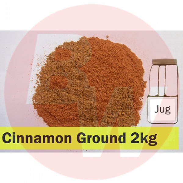 KOS Cinnamon Ground 2kg Jug