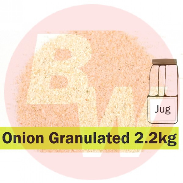 KOS Onion Granulated 2.2 kg Jug
