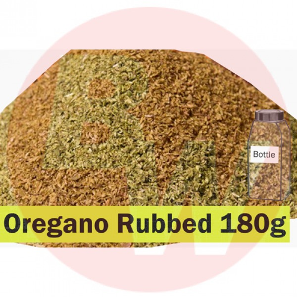 KOS Oregano Rubbed 180g Bottle