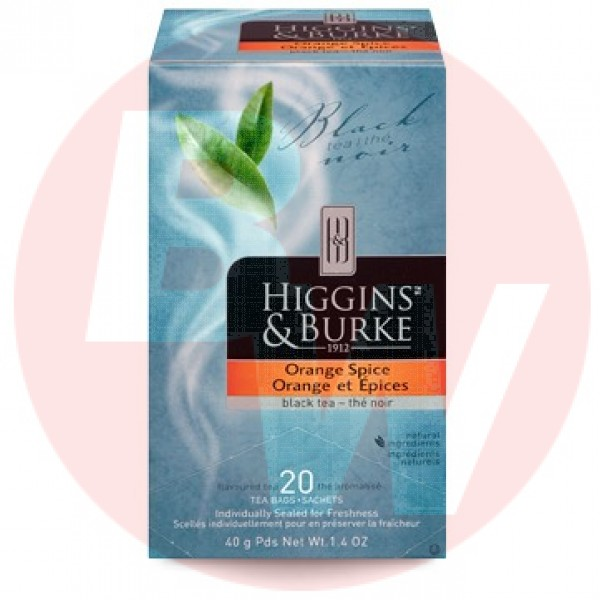 Higgins & Burke Tea Orange Pekoe 20's x 6