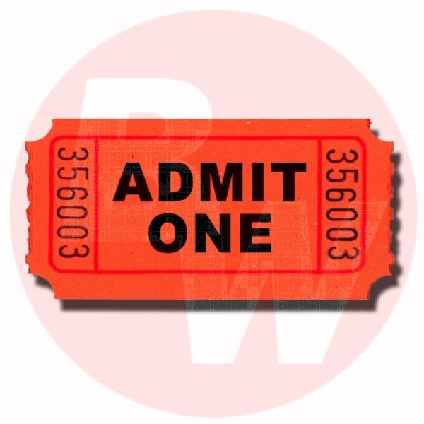 Multi-Tact - 11112 - Tickets - Admit One Coupon 1000/Case