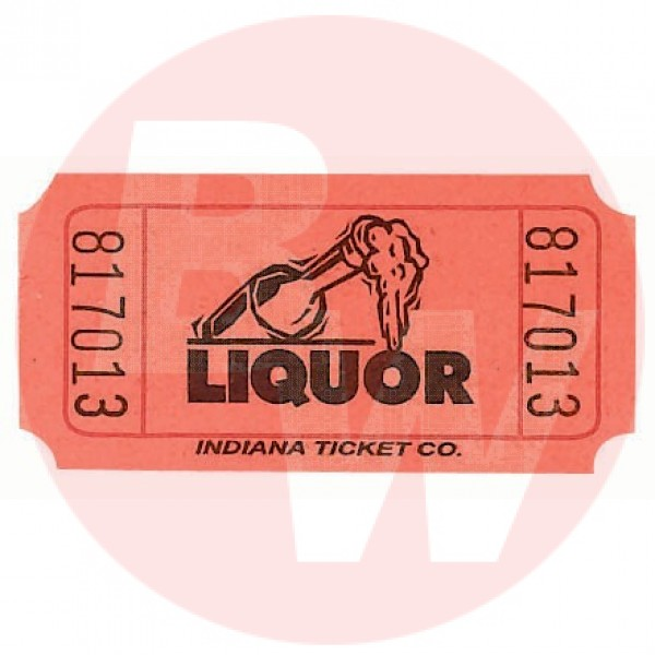Multi-Tact - 11122 - Tickets - Liquor 1000/Case